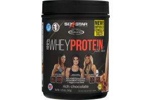 Six Star 100% Whey Protein For Her Rich Chocolate