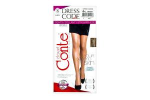 Колготи жін. DRESS CODE 8, р.4, bronz 1 шт