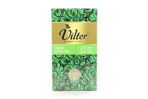 Чай зеленый Классический Vilter к/у 25х1.5г