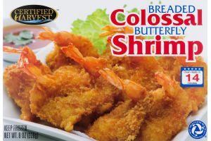 Certified Harvest Colossal Shrimp Breaded Butterfly