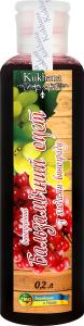 Оцет бальзамічний виноградний з ягодами винограду Kukhana п/пл 200мл
