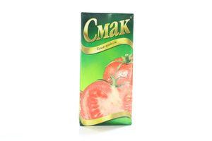 Сок томатний Смак т/п 1л