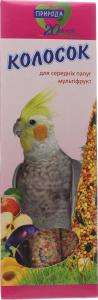 Лакомства для средн папугаев Природа Колос Мультиф