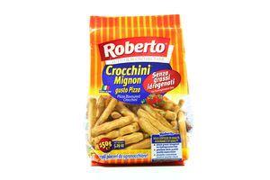 Палочки Crocchini Mignon со вкусом пиццы Roberto 150г