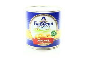 Фасоль Бабусин продукт нежная ж/б 430г