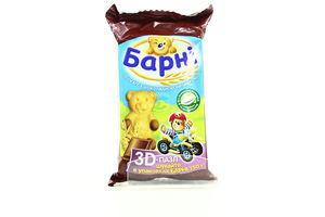 Бисквит медвежонок Барни с шоколадной начинкой Kraft м/у 30г