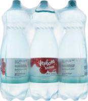 Вода минеральная природная столовая слабогазированная Лагидна Червона калина п/бут 2л