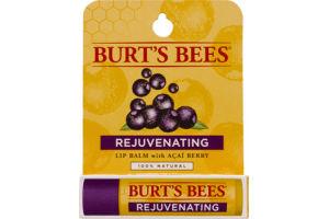 Burt's Bees 100% Natural Moisturizing Lip Balm, Acai Berry, 1 Tube in Blister Box
