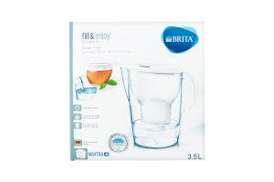 Фільтр для води білий 3.5л №1026458 Marella Brita 1шт