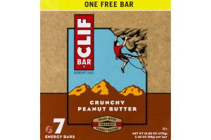 Clif Bar Energy Bar Crunchy Peanut Butter - 7 CT