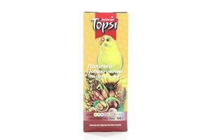 Палочки для попугаев орехово-овощные Topsi 100г