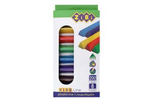 Набір пластиліну 8 кольорів №ZB.6226 ZIBI 1шт