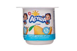Творог 3,9% груша Агуша п/б 100г