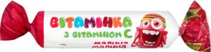 Сахарное изделие с витамином С Малина Вітамінка м/у 30г