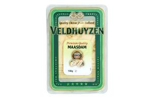 Сыр Veldhuyzen Kaas Маасдам 45% кор/мол нарезка