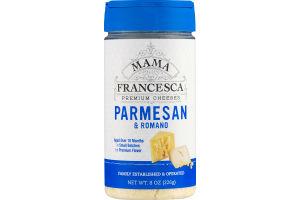 Mama Francesca Premium Cheeses Parmesan & Romaso
