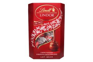 Конфеты из молочного шоколада с начинкой Lindor Lindt к/у 200г