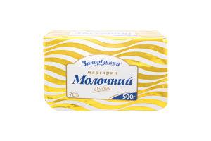 Маргарин 70% Особый Молочный Запорізький м/у 500г