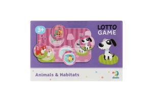 Гра для дітей від 3років №300196 Animals&Habitats Lotto Dodo 1шт