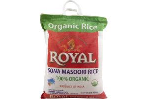 Royal Sona Masoori Rice 100% Organic
