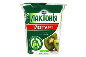 Йогурт 3% с лактулозой Киви Лактонія ст 280г