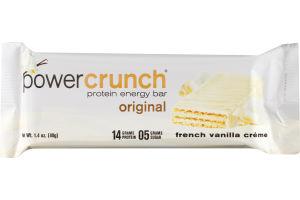 Power Crunch Protein Energy Bar Original French Vanilla Creme