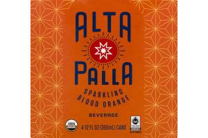 Alta Palla Sparkling Blood Orange - 4 CT