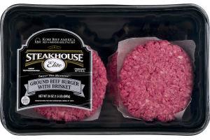 Steakhouse Elite Ground Beef Burger with Brisket