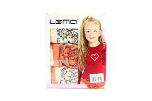 Труси Lama 3шт L G-SD1 122-128 для дівчаток