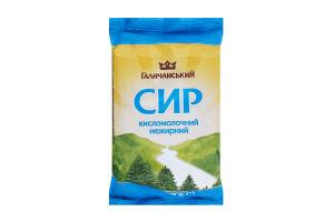 Сир кисломолочний нежирний Галичанський м/у 200г