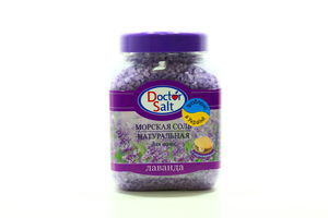 Соль для ванн с перламутром Лаванда Doctor Salt 500г