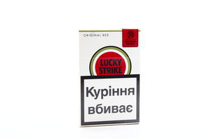 Сигареты Lucky Strike Original Red 20шт