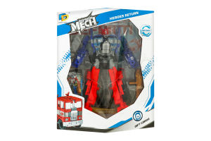 Іграшка для дітей від 3років №D622-Е268 Робот Пожежна машина Dade Toys1шт