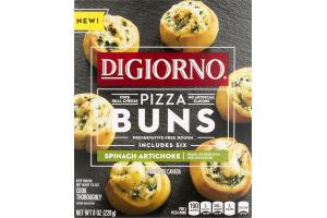 DiGiorno Pizza Buns Spinach Artichoke - 6 CT