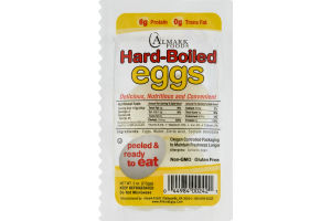 Almark Foods Hard-Boiled Eggs Ready To Eat - 2 CT