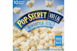 Pop-Secret Microwave Popcorn 100 Cal HomeStyle - 10 PK