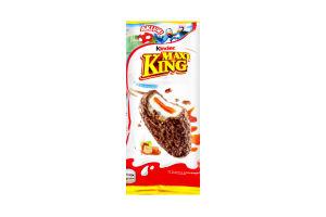 Вафли с молочно-карамельной начинкой Maxi King Kinder м/у 35г