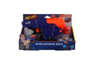 Іграшка для дітей від 8років №E6170 Shellstrike Elite Nerf Hasbro 1шт
