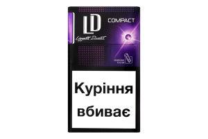 Сигареты с фильтром Autograph Compact Purple Tempo LD 20шт