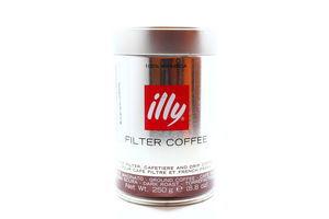 Кава Illy Filter Coffee мелена з/б 250г х12