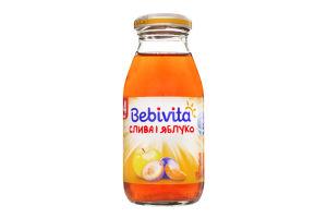 Сік для дітей від 4міс Слива і яблуко Bebivita с/пл 0.2л