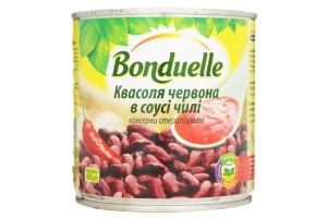 Фасоль красная в соусе чили Bonduelle ж/б 430г