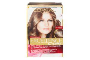 Крем-краска для волос Excellence Русый №7 L'Orеal