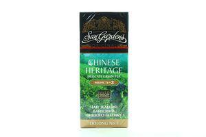 Чай зеленый Chinese Heritage Sun Gardens 25х1,5г