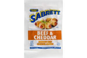 Sabrett Beef & Cheddar Skinless Beef Cocktail Franks