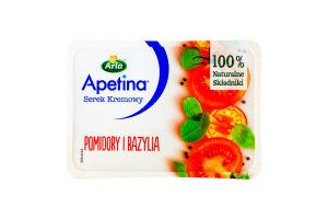 Крем-сыр 50% с томатом и базиликом Аrla п/у 125г