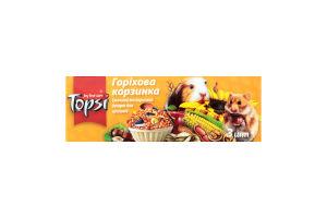 Десерт для грызунов Ореховая корзинка Topsi к/у 3х15г
