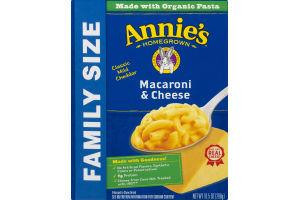 Annie's Homegrown Macaroni & Cheese Classic Mild Cheddar