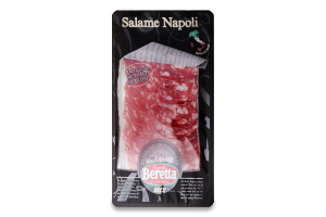 Ковбаса нарізка Salame Napoli Beretta с/в лоток 80г