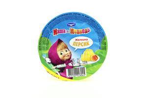 Желе фруктово-молочное со вкусом персика Маша и Медведь ст 135г